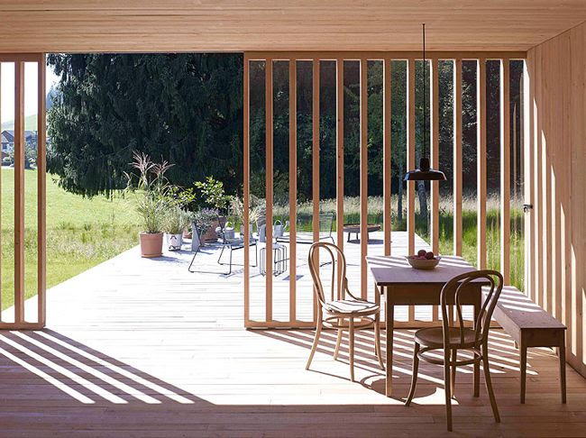 Austrian Contemporary Barn by Bernardo Bader Architects