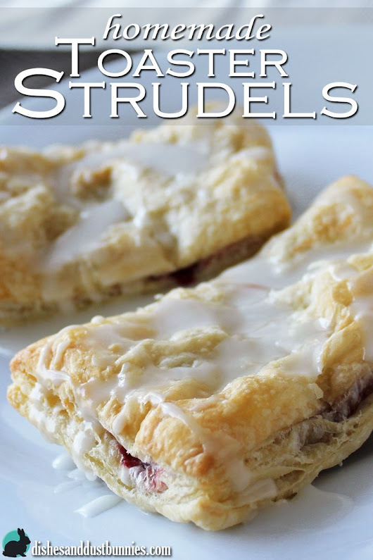 Homemade Toaster Strudel Pastries | Recipe