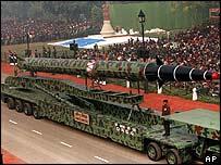 Agni missile, India
