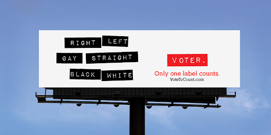 Vote to Count, Help Spread the Message - Outdoor Advertising Experts
