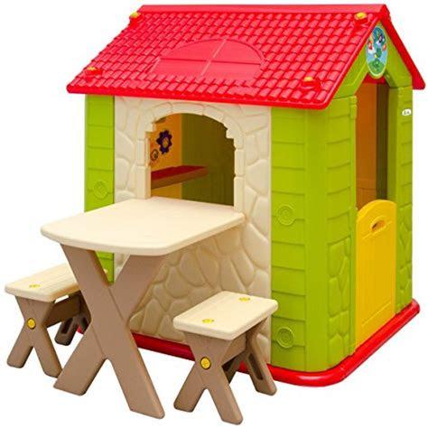 littletom kinderspielhaus inkl tisch und  baenken