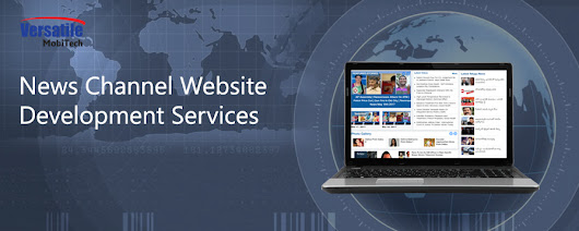 Best News Channel Website Development Services in London