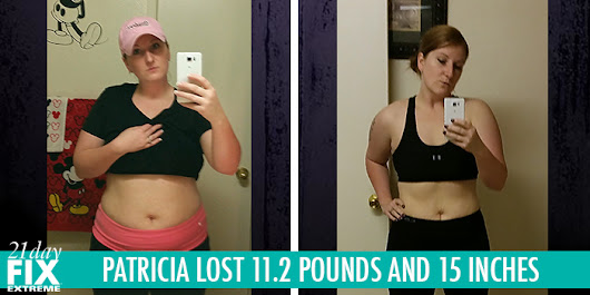 Transformation Tuesday: Patricia Lost 11.2 Pounds with 21 Day Fix Extreme!  - The Beachbody Blog
