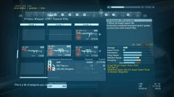 mgsv weapons un arc