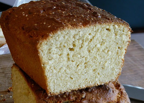 Coconut - Sesame Yogurt Cake