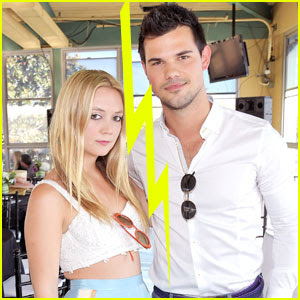 Billie Lourd & Taylor Lautner Split After About 8 Months of Dating