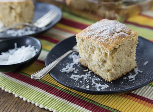 Jamaican Toto - Caribbean Coconut Cake - Analida's Ethnic Spoon