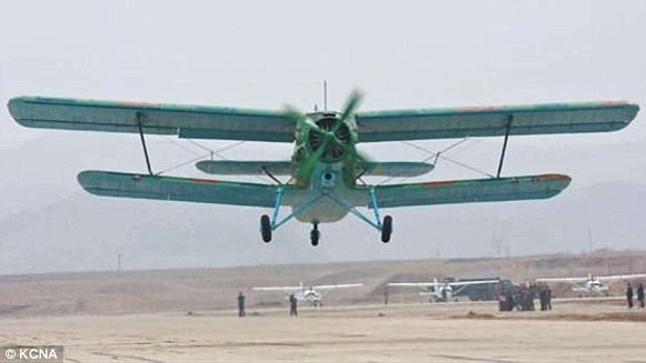 Kim Jong-un has around 300 Antonov An-2 aircraft which were designed in 1947