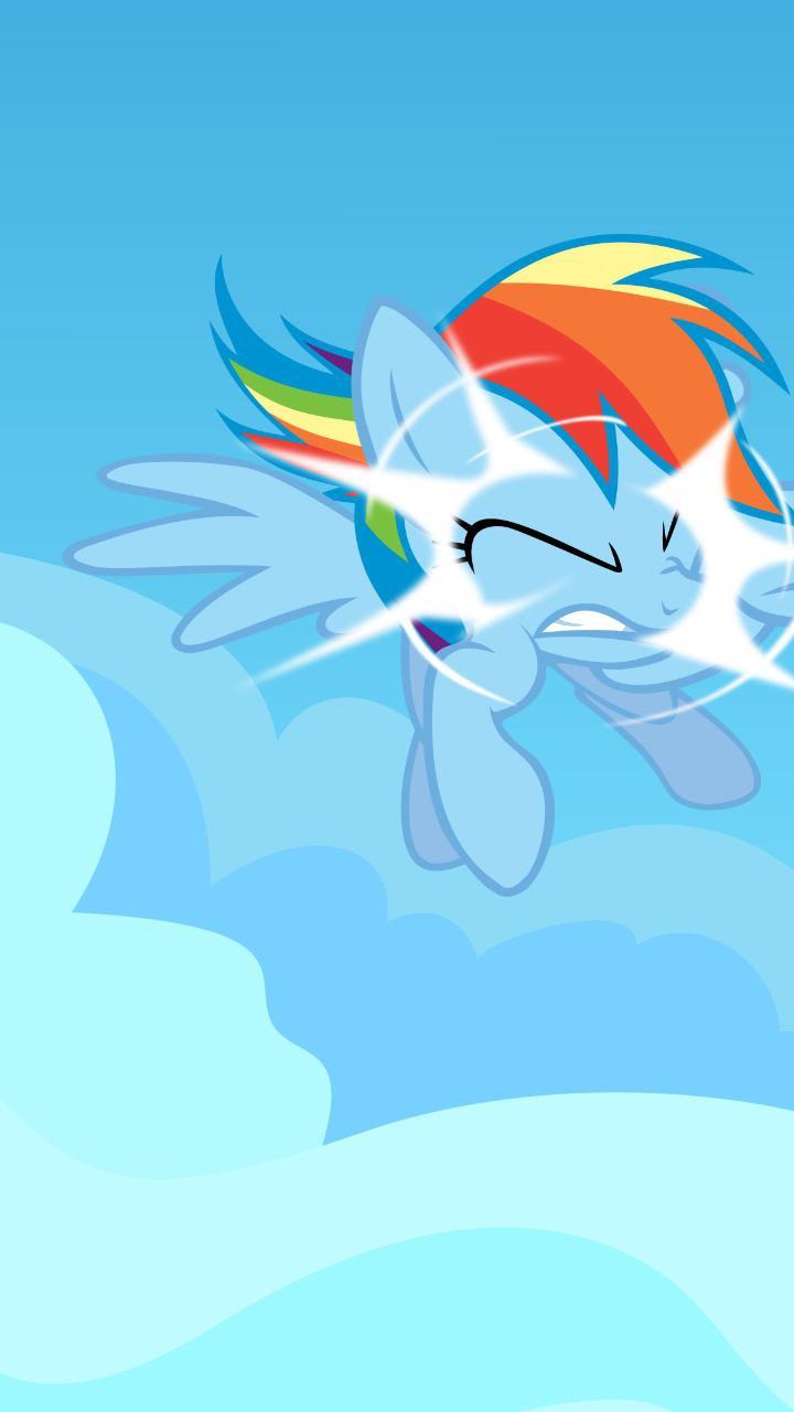 Rainbow Dash Cutie Mark Iphone Wallpaper Lib