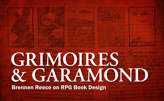 Grimoires & Garamond: Brennen Reece on RPG Book Design