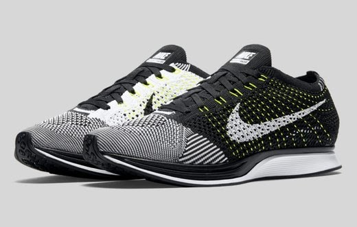 NIKE are pleased to announce that the Flyknit Racer  Volt  colourway will  be back in stock on  flyknitfriday a798cf1bedf3