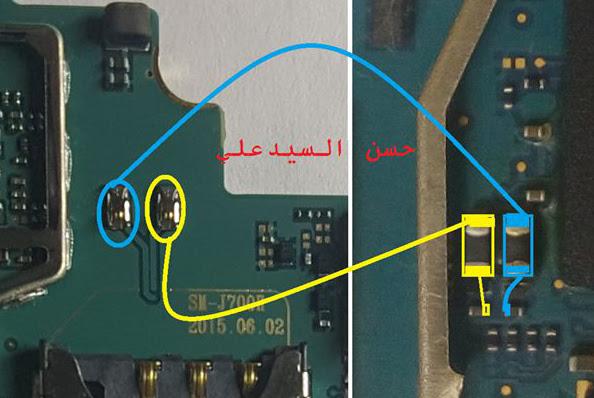 Samsung Galaxy J7  Ringer Solution Jumper Problem Ways
