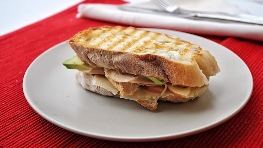 Post-Thanksgiving Turkey Panini and Cranberry Chutney