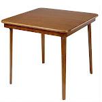 Stakmore Wood Folding Table – Fruitwood Finish