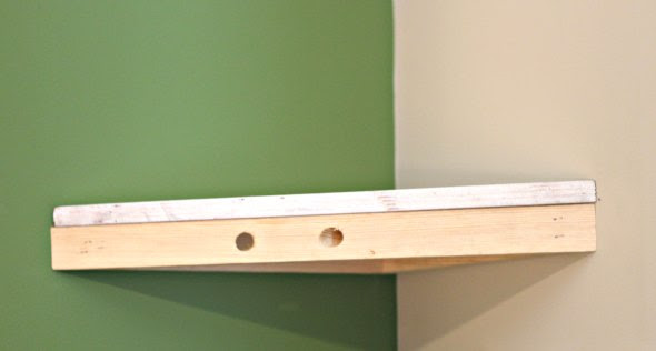 How To Build A Corner Shelf