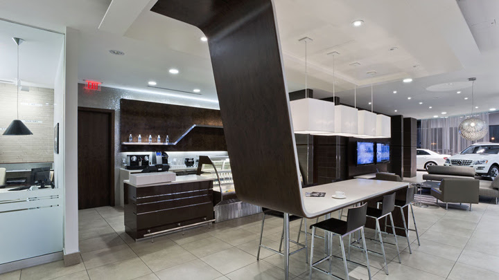 Mercedes-Benz dealership by GH+A, Burlington - Canada ...