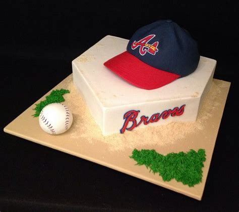25  best ideas about Atlanta braves cake on Pinterest