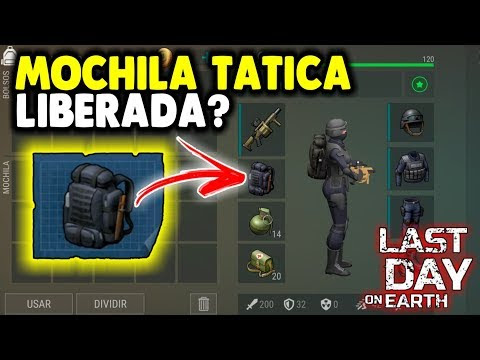 MOCHILA TATICA Esta Liberada? - Last Day On Earth
