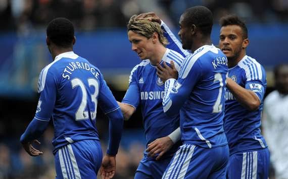 FA Cup,Salomon Kalou,Fernando Torres,Chelsea v Leicester City