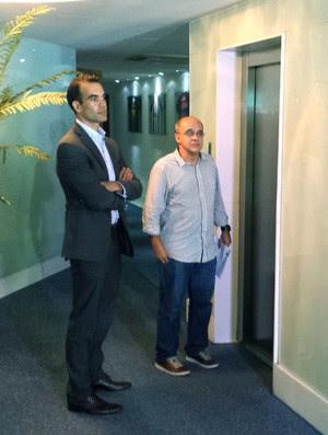 Eduardo Bandeira de Mello é xingado pelo presidente da Federação do Rio