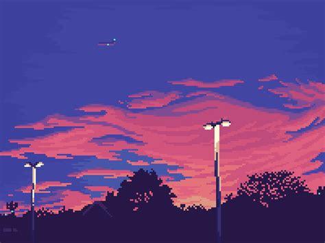 ocnightfall pixelart   pixel art aesthetic
