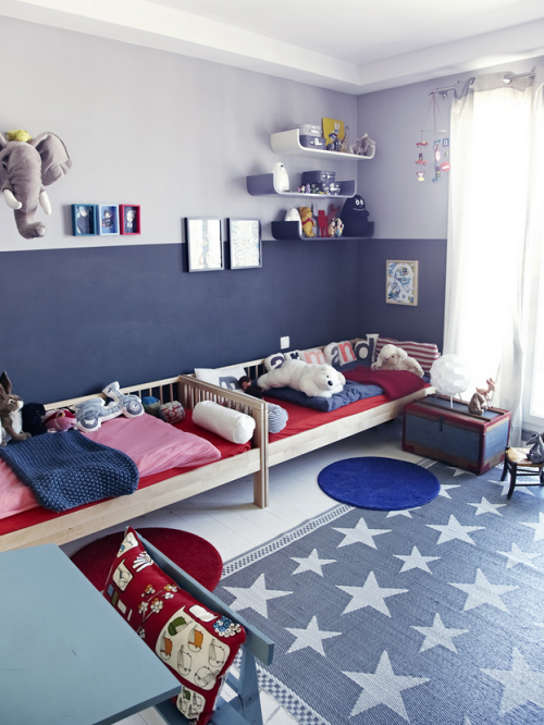 Red, White & Blue Boy's Room & Happy July 4th   Simplified ...