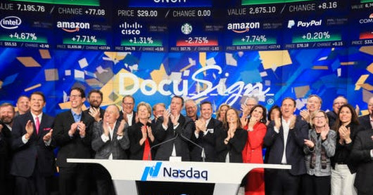 E-Signature Leader DocuSign Couldn't Find A Boss Two Years Ago. Now It's Worth $6 Billion After IPO.
