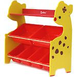 〖Follure〗Toddler's Toy Storage Organizer with 6 Plastic Shelf Drawer for Kid's Playroom