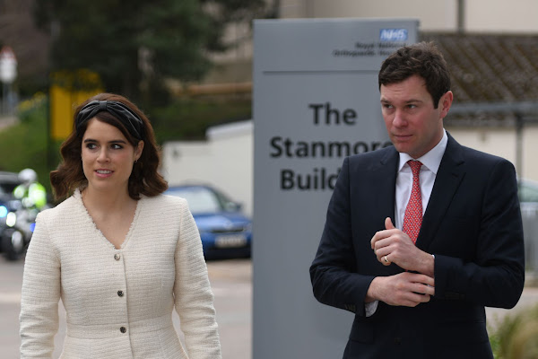 f07371cdfbee Princess Eugenie and Jack Brooksbank Just Had Their First Royal Engagement  Together