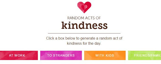 Random Acts of Kindness Generator - Sally Around the Bay