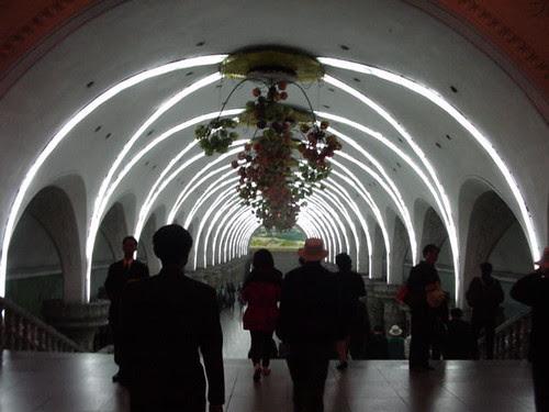 Yonggwang Station - Pyongyang Metro System, Korea