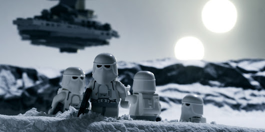 When LEGO And 'Star Wars' Join Forces, The Result Is Pure Magic