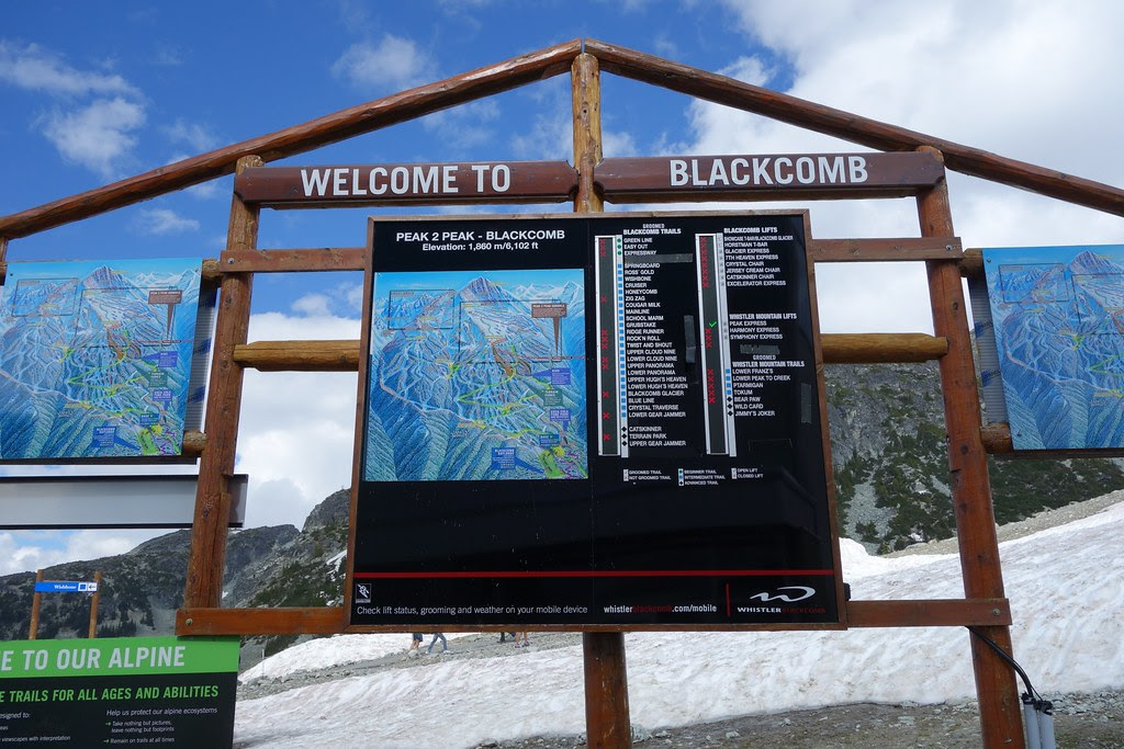 Blackcomb welcomes me.