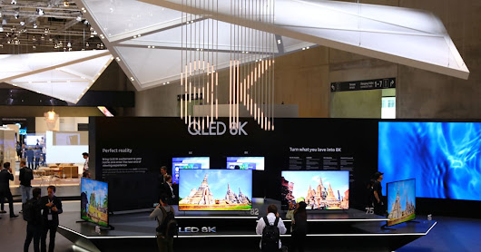 Samsung's case for buying an 8K TV: Why wait?