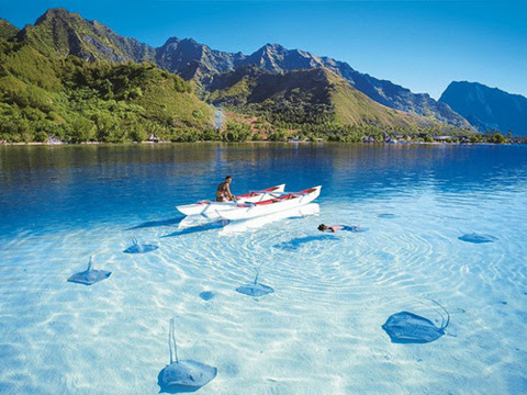 Boats-Fly-Over-Crystal-Clear-Water-6