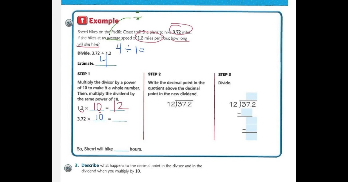Practice And Homework Lesson 5 6 Answer Key 5th Grade
