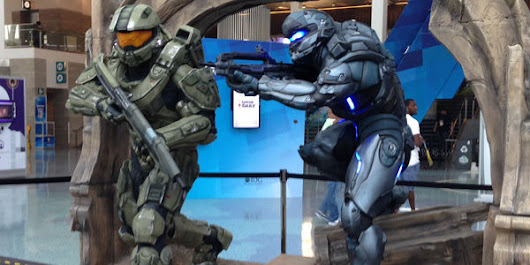 The Halo 5 HoloLens E3 Experience and I loved it | GameGravy