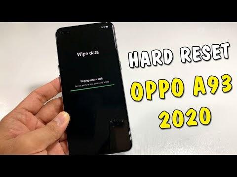 Hướng dẫn Hard Reset Oppo A93 2020