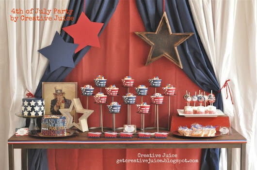 20 Lovely Patriotic Celebration Table Ideas - Beauty Harmony Life