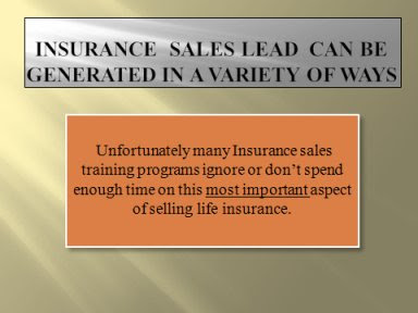Insurance Sales Lead. Understanding how the prospecting ...