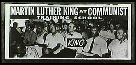 Image result for martin luther king at communist training school