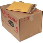 Sealed Air Jiffy Padded Self Seal Mailer, #4, 9 1/2 x 14 1/2, Natural Kraft, 100/Carton (67320)