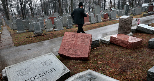 I Cover Hate. I Didn't Expect It at My Family's Jewish Cemetery.