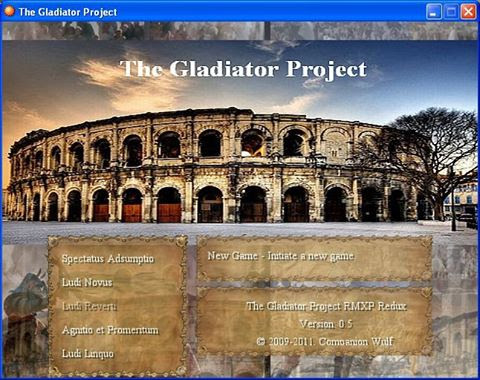 The Gladiator Project - An Old Game Revisited - RPG Maker Times