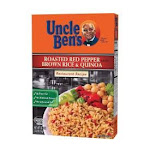 Uncle Ben's 10161541 Roasted Red Pepper Flavored Brown Rice Quinoa 6-35.2 Ounce, Price/Case