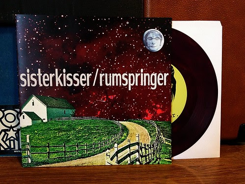 "Sister Kisser / Rumspringer - Split 7"" - Purple Vinyl (/100) by Tim PopKid"