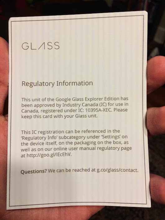 Glass Coming to Canada Soon? - Glass Almanac
