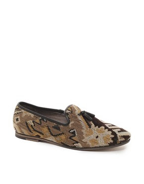 Image 1 ofH By Hudson Sayah Embroidered Loafers