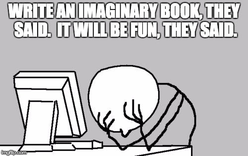 Reading and Writing Imaginary Books