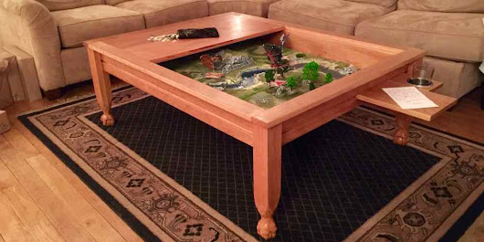 Geek Chic Gone? Build Your Own Gaming Table! - GeekDad
